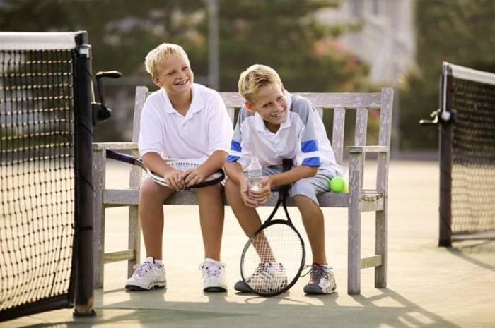 Children's Tennis Exercises and Material