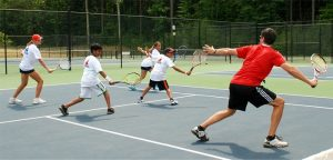 tennis camp for play tennis