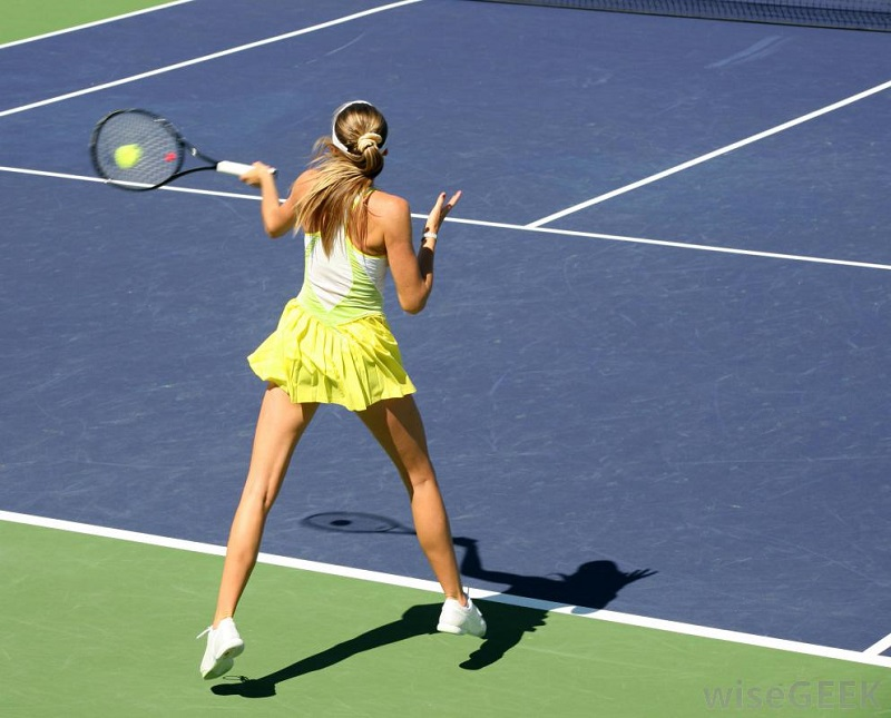 The shot of tennis (top spin) and its tactical importance