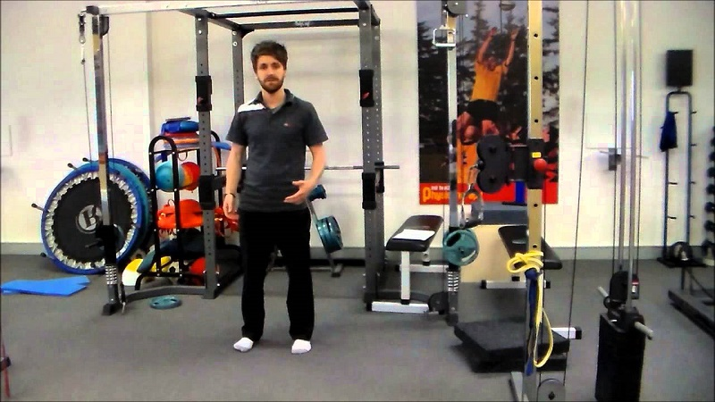 Gym exercises for tennis