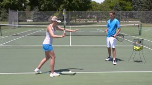tennis strokes and movements