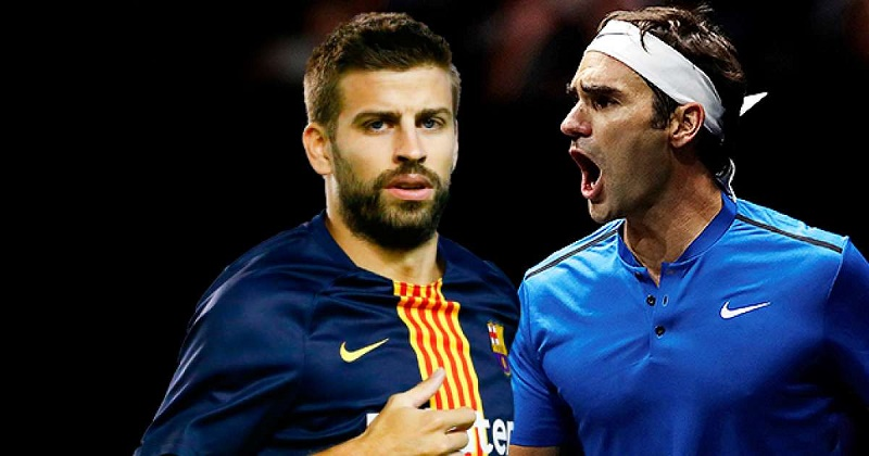 Piqué accompanied the Madrid ATP, at the time the winner was Alexander Zverev