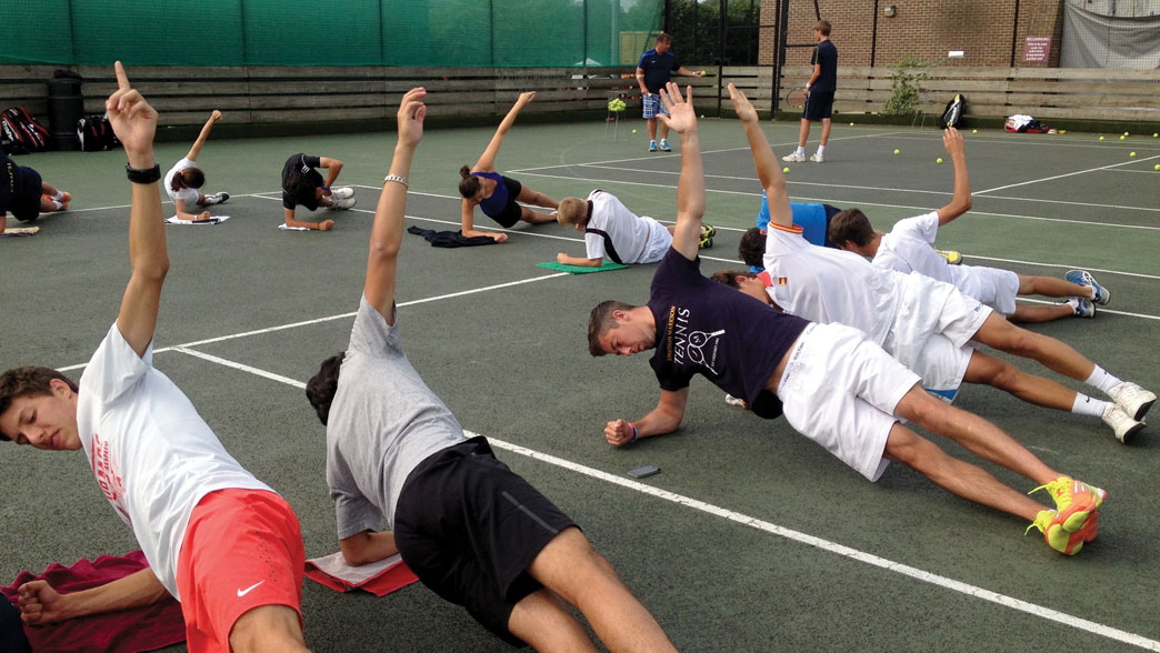 cool down exercises for tennis games