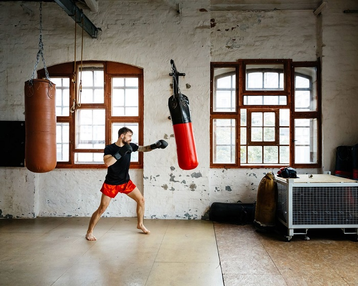 How to train boxing at home